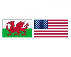 Уэльс — Соединенные Штаты Америки фото