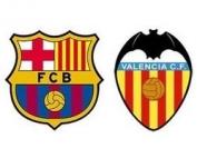 Футбол кубок Испании, Барселона - Валенсия