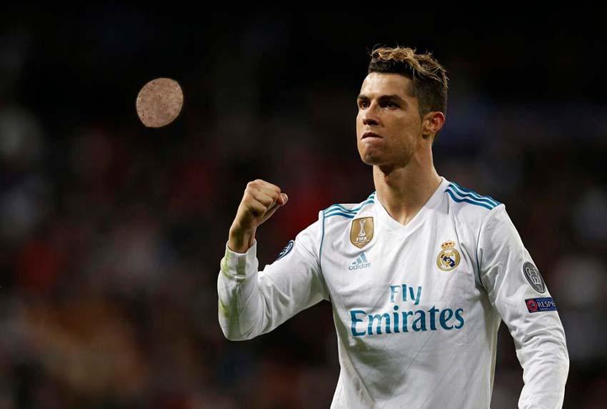 Криштиану Роналду, финал Лиги Чемпионов, 2018 год.
