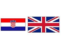Хорватия – Англия. Футбол. фото