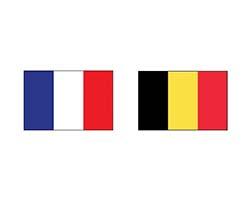 Франция – Бельгия. Футбол. фото