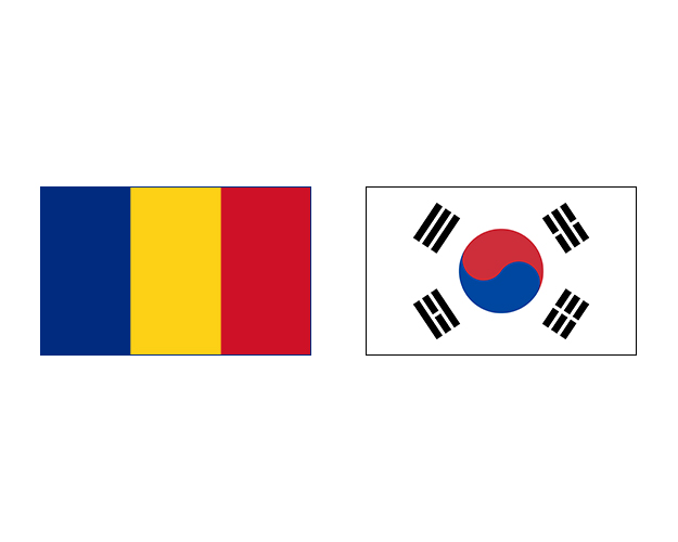 фото Румыния – Южная Корея