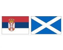 Сербия — Шотландия фото