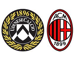 Футбол Серия А, Удинезе - Милан