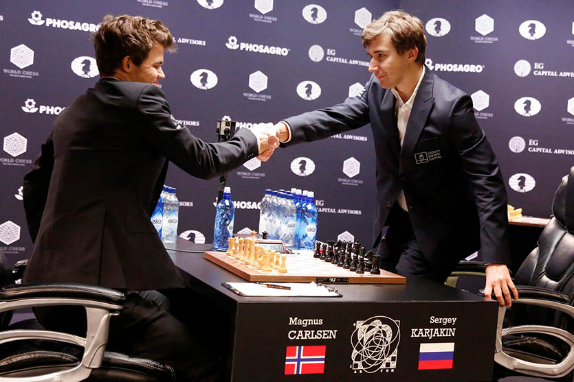 Карлсен - Карякин, ЧМ по шахматам 2016