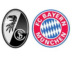 Футбол. Германия. Фрайбург - Бавария