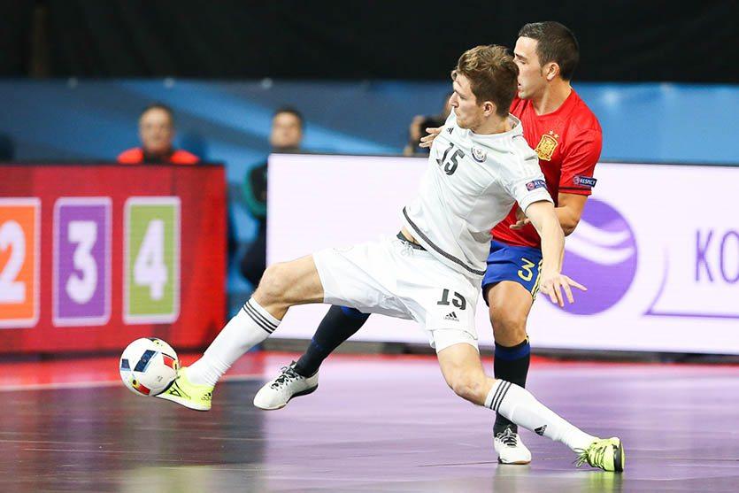 Футзал, матч сборных Казахстан - Испания