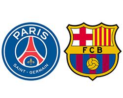 Футбол. Лига Чемпионов. ПСЖ - Барселона