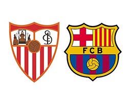 Севилья — Барселона. Футбол, Чемпионат Испании