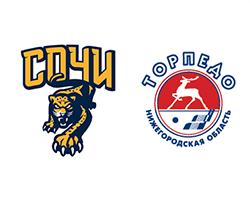 Хоккей КХЛ, Сочи – Торпедо