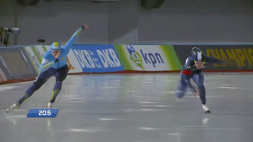 Конькобежный спорт. спринтерское многоборье.