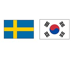 Швеция – Республика Корея. Футбол, Чемпионат Мира