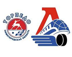 Хоккей. КХЛ. Торпедо – Локомотив