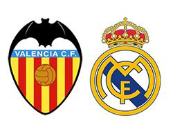 Футбол Примера, Валенсия – Реал Мадрид